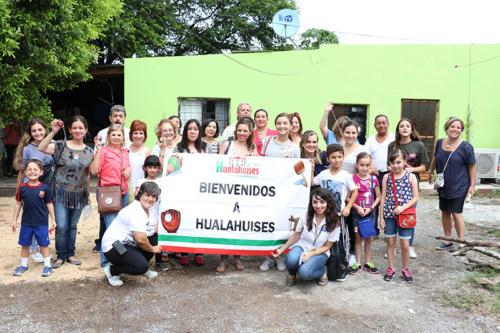 HUALAHUISES BIENVENIDA
